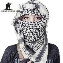 Airsoft wojskowy Shemagh zagęścić muzułmański hidżab wielofunkcyjny szalik taktyczny szal arabski Keffiyeh szaliki moda szalik kobiety