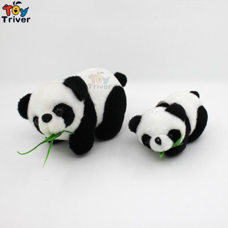 Wholesale 100pcs Plush China Bamboo Panda Pendant Toys Doll Stuffed Animal Wedding Party Birthday Gift Bag Accessory Triver juwanke bamboo charcoal plush toys air freshener