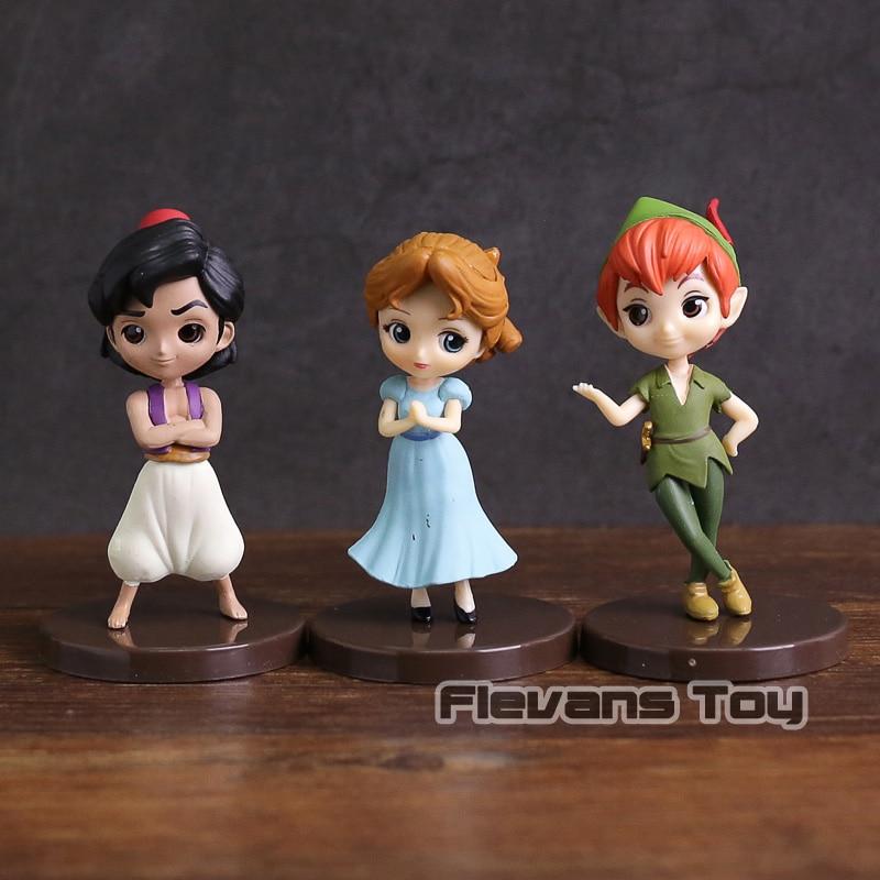 100/% Authentic! Peter Pan Q posket petit Disney Characters Wendy