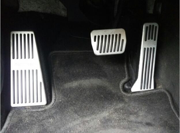 Auto gas accelerator pedal, footrest and brake pedal for ...