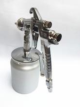 W-101 Spray gun manual spray paint, spray oil, spray gun, on the pot, off the pot  caliber1.0/1.3/1.5/1.8mm sweeten the pot