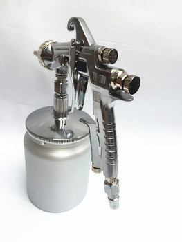 W-101 Spray gun manual spray paint, spray oil, spray gun, on the pot, off the pot caliber1.0/1.3/1.5/1.8mm фото