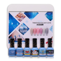 Free Shipping 1 Set Nail Art Color Nail Polish 6 Different Style Options