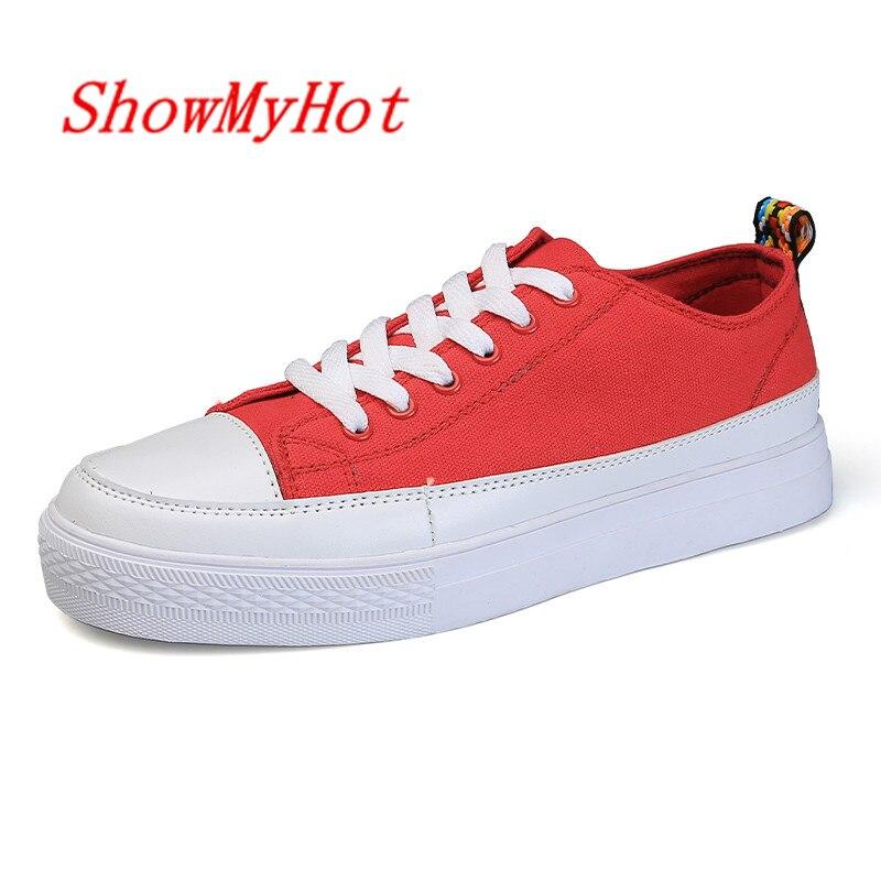 rouge Blanche Marque Étudiants Qualité D'été Chaussure Chaussures Espadrille Showmyhot Noir Respirant Haute blanc Zapatos Hommes Formateurs Hombre Noir bleu 6xnTARq