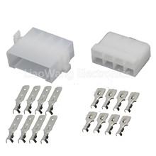 10  Sets 8 Pin plastic parts automotive connectors high-quality connector with terminal DJ7081B-6.3-11/21