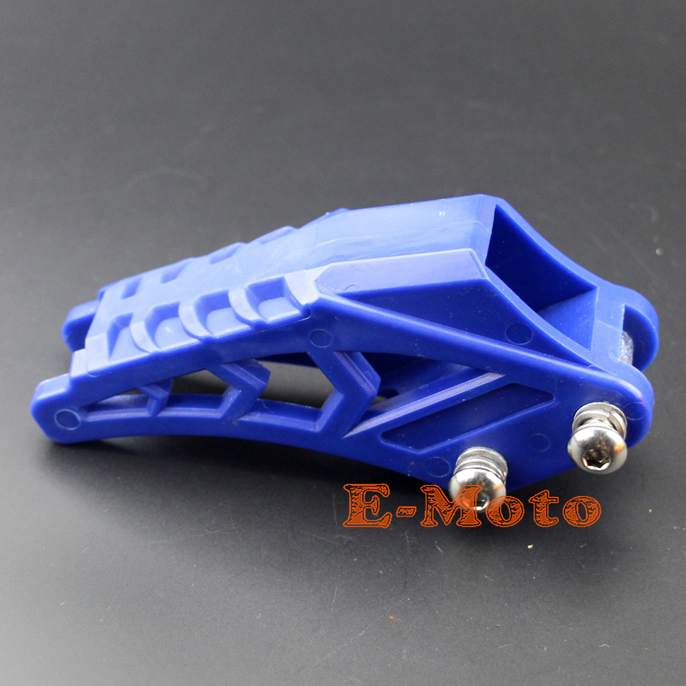 Blue #420 428 Arrival Fit KTM CRF 250 R EXC CRF YZF KXF MX Chain Guide Chain Guard for BSE Bosuer Dirt Bike Pit Bike ABM XMOTOS image