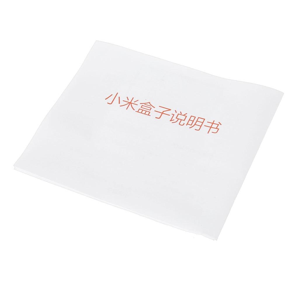 Original Xiaomi Mi 3 3S BOX TV Android 6.0 2G/8G Smart 4K Quad Core HDR Movie Set-top Box Media Player Netflix YouTube Google