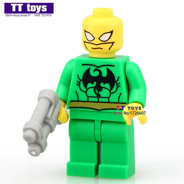 single sale iron fist 2016 hot movie super heroes building blocks model kids christmas gifts for