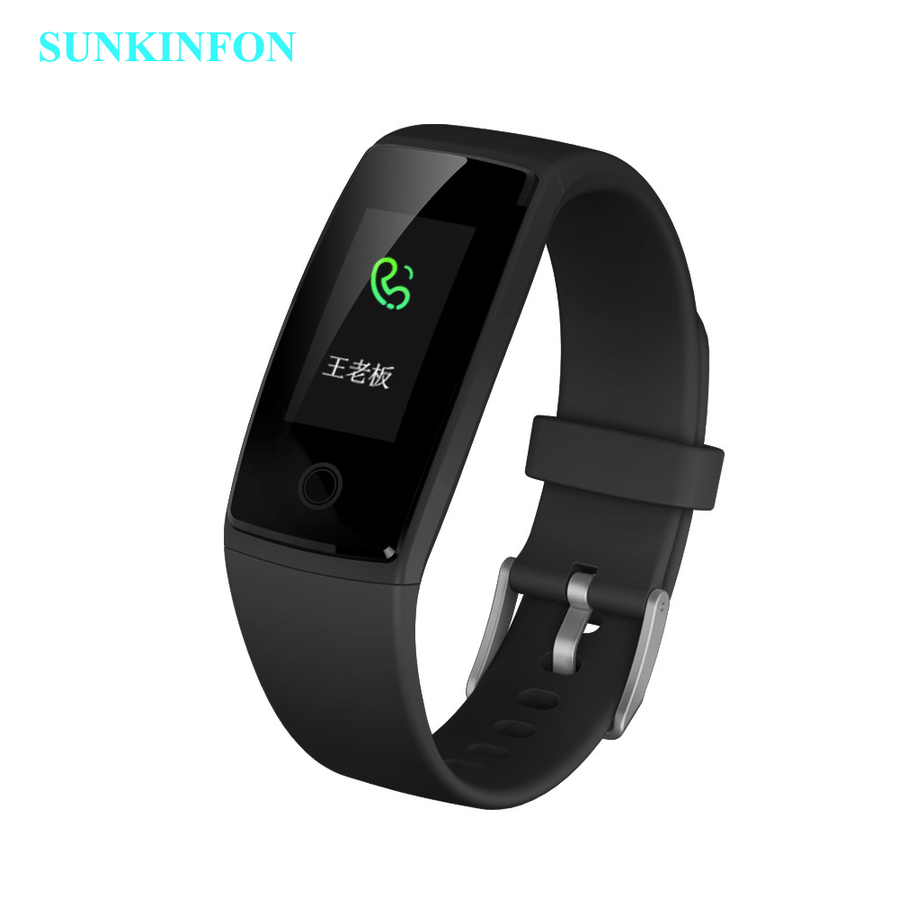 цена на Colorful Smart Wristband Fitness Bracelet Heart Rate Monitor Band Acitivity Track Pedometer Blood Pressure for iPhone 6 6S Plus