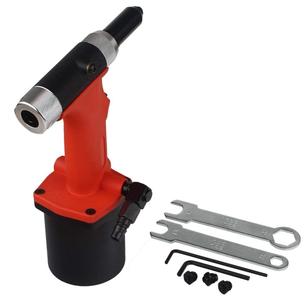 Industrial Air Riveters Pneumatic Rivets Gun 2.4 3.2 4.0 4.8MM Blind Rivet Gun Professional Air/Hydraulic Riveting Tool