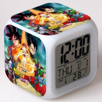 Япония Манга Dragon Ball z фигурки, СВЕТОДИОДНЫЙ Сенсорный световой сигнал, настольные часы, Аниме Figma Dragon Ball, игрушки для мальчиков