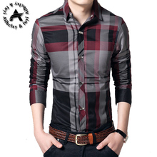 Men Plaid Shirt Camisas 2016 New Arrival Men's Fashion Plaid Long-sleeved Shirt Male Casual High Quality Shirt