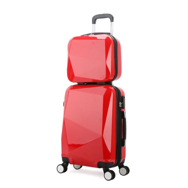 """REIZEN TALE 20 """"24"""" 28 """"spinner trolley Reistas koffer set abs bagage op wielen gratis verzending-in Bagage sets van Bagage & Tassen op  Groep 3"""