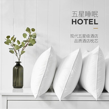 New Super soft pillow 5 Star Hotel pillows Household pillows Solid color pillows Manufacturer sales 48x74cm