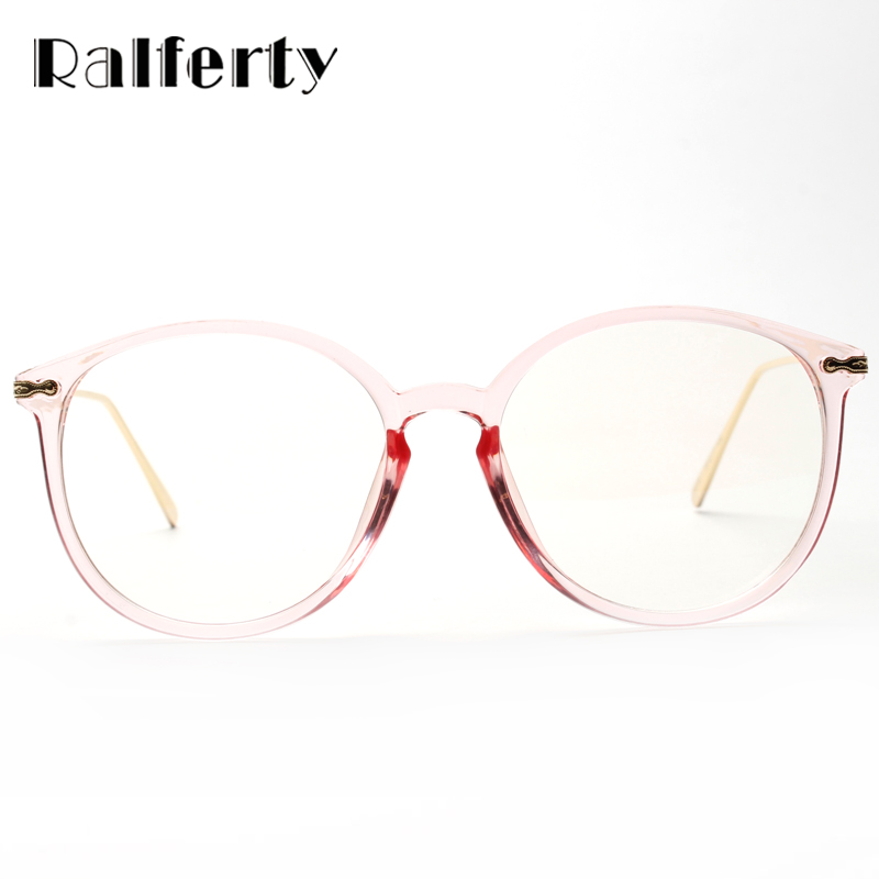 Ralferty Transparent Glasses Frame With Clear Lens Oversized Oval - Apparel Accessories - Photo 4