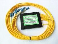 2pcs/lot 3.0mm 1x8 ABS Box PLC Splitter Module LC/UPC Connector Fiber Optical PLC Splitter