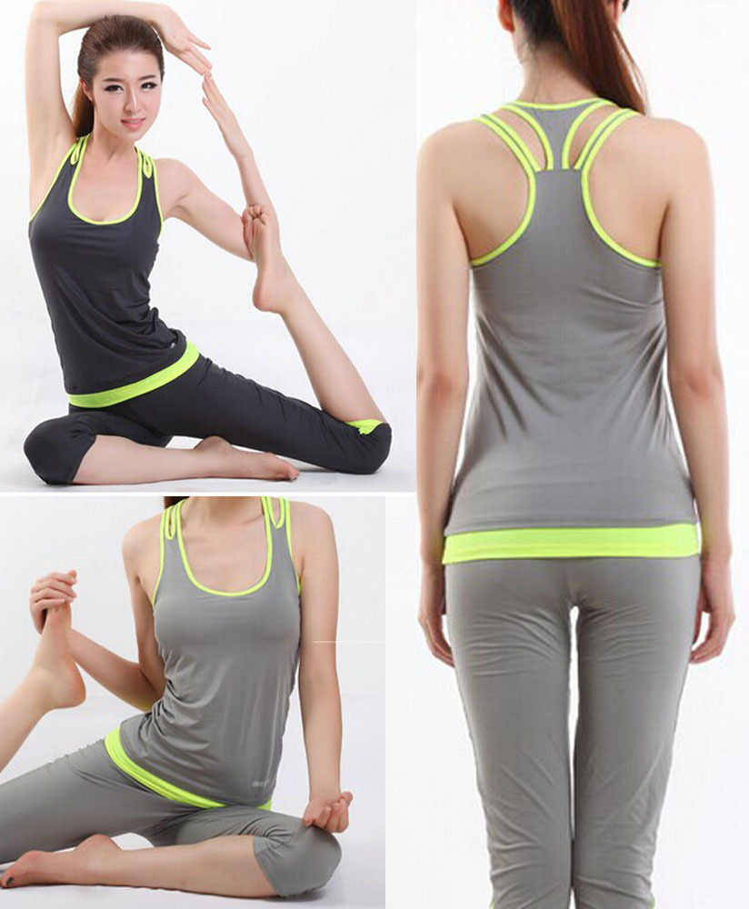 New Brand 2014 Women Yoga Sets/Fitness Yoga Clothing For