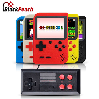 Video Game Console Mini Pocket Handheld Game Player Built-in 400 Classic Games Best Gift for Child Nostalgic Player with gamepad