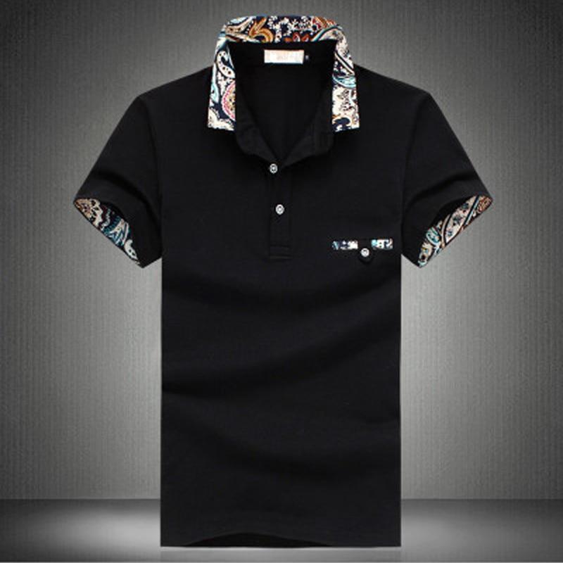Man S Casual Polo Shirt Men Solid Polo Shirt Brands Men British Polo