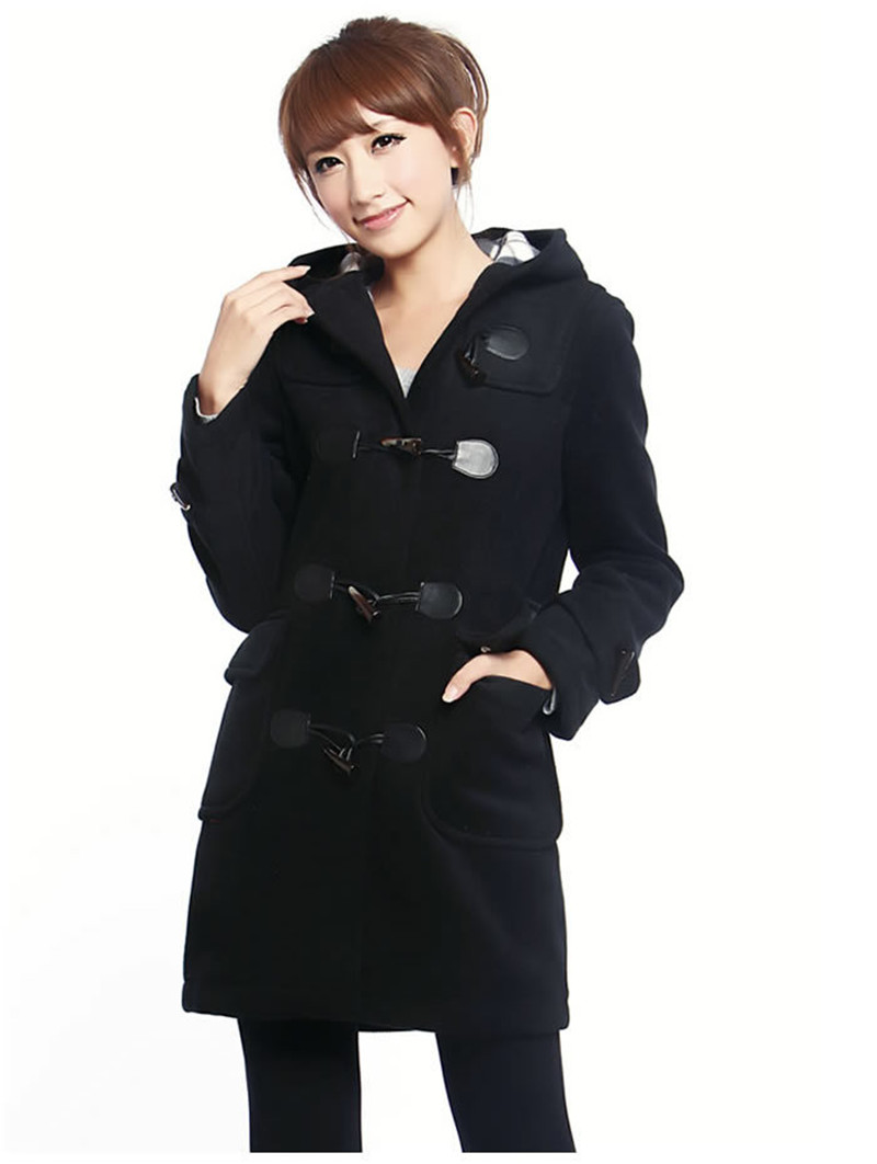 Asian hooded wool coat 4