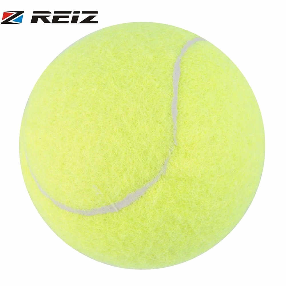 REIZ Training Tennis Balls Outdoor Fun Cricket Beach Dog Ideal For Beach Cricket Sports Tournament Practice Yellow Color