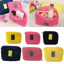 Mobile Kit Case High Capacity Storage Bag Digital Gadget Devices USB Cable Data Line Travel Insert Portable Bags