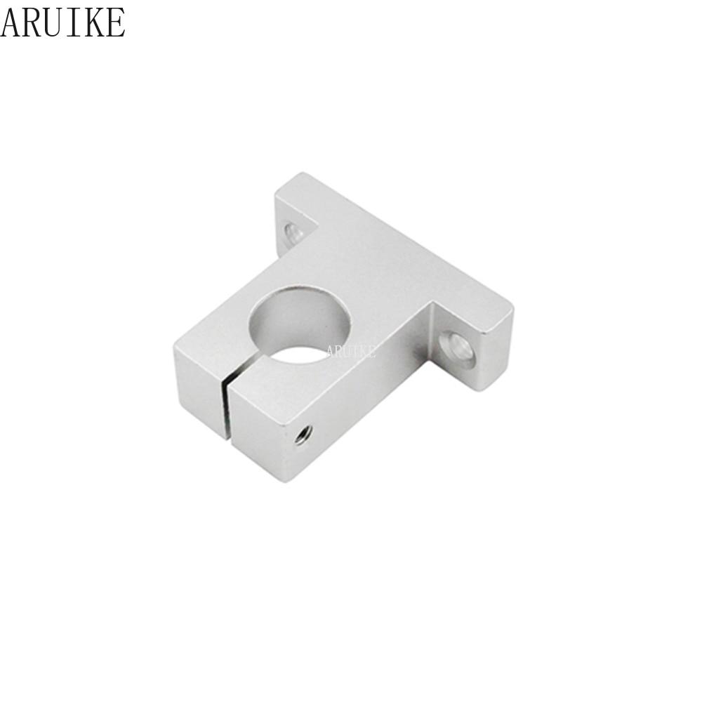1pcs 8mm/10mm/12mm/13mm/16mm/20mm Sk8 Sh8a Ball Bearing Thrust  For rod bearing Linear Rail Shaft Support Xyz Table Cnc