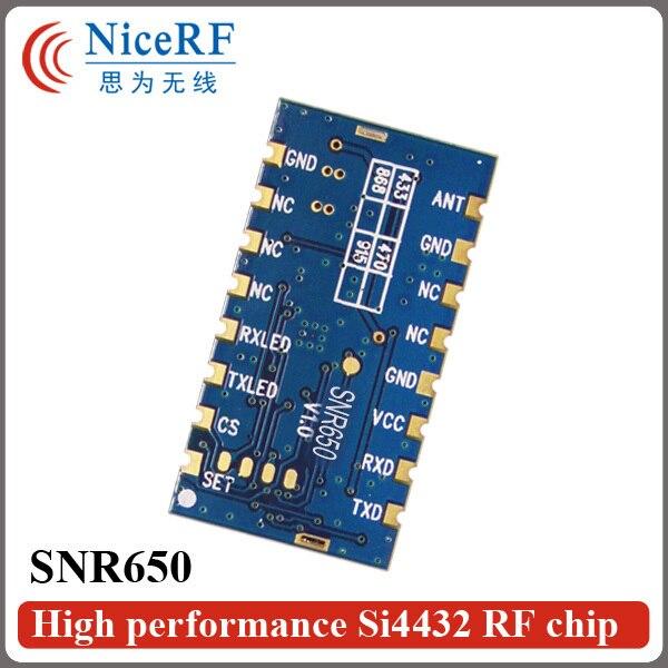 2 шт./упак. Безопасности Системы Дистанционного Управления SNR650 500 МВт 470 МГц TTL Интерфейс Embedded Network Node Модуль