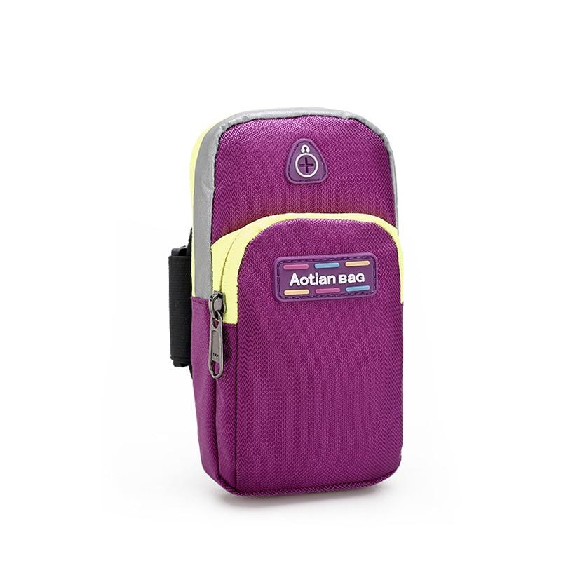 2018 Fashion Women & Men Waterproof Arm Bag Mini Coin Purses Zipper Clutch Bag Small Lady 4-5 inch Phone Bag Pouch Wallet New