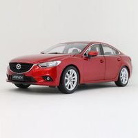 diecast 1:18 Alloy 2014 Mazda ATENZA Car Model Of Children's Toy Cars Original Authorized Authentic Kids Toys For Collection