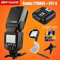 Lo nuevo Godox GN60 TT685S 2.4G HSS TTL de Flash Speedlite + X1S Gatillo transmisor kit para sony a58 a7rii a7ii a99 a7r + 5 regalo Kit
