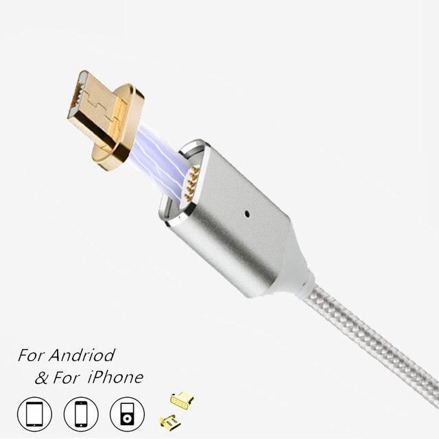 磁気高速max 2.4a micro usb充電ケーブルiphone 7 6 6 s-plus 5ケーブル用samsung用lg xiaomiアンドロイド電話ケーブルbfytn