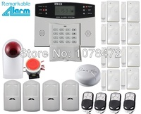 Original PG500 SMS GSM alarm system multi language:English,French,Spanish,Czech,Romanian for option home security alarm system
