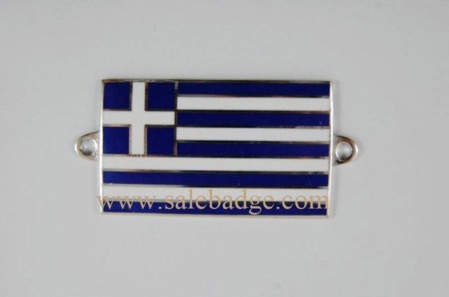 Greece Metal Pin Badge Make Enamel Pins Hot Sale