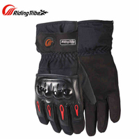 Riding Tribe Waterproof Racing Touch Screen Gloves Motorcycle Motocross Cycling Bicycle Travel Luvas Guantes Skiing Gloves