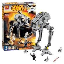 New STAR WARS AT-DP 499pcs Spaceship Clone War Building Blocks Bricks Action Figures Starwars Toys myeddis