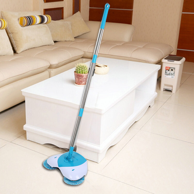 Magic Broom 360 Degree Rotatable Sweeping Machine Long Handle Hand Push Broom Sweeper Floor Dust Litter Home Cleaner Tools(China)