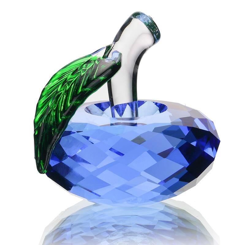H D regalos de navidad cristal Apple paperweight cristal