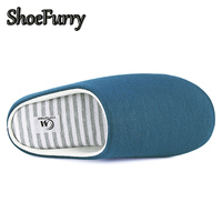 ShoeFurry Winter Men Home Slippers Casual Shoes Warm Plush Male Indoor Slippers Cotton Shoes Antiskid Mute Man Bedroom Slippers 3