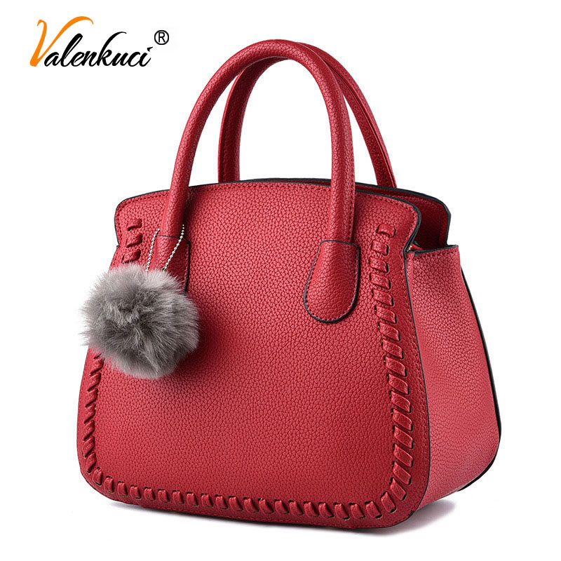 ФОТО Valenkuci women leather handbags women messenger bags designer handbag crossbody bags for women luxury top-handle bags SD-819