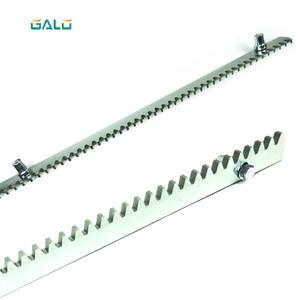 Image 2 - GALO sliding gate motor gate galvanized steel gear rail rack 1m per pc