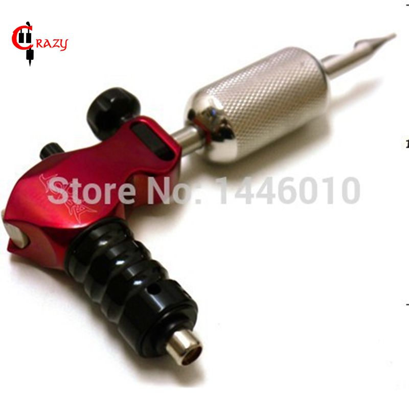Crazy Top Selling Stigma Beast Style Rotary Tattoo Machine Red Pro Rotary Tattoo Machine Gun For Tattoo Supplies Free Shipping