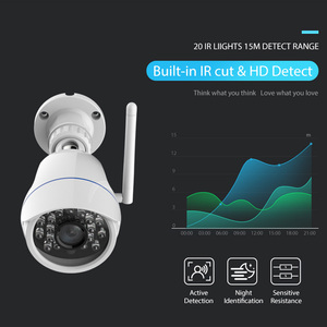 Image 4 - 720P IP Camera Wireless Wifi network Surveillance Camera Outdoor Waterproof Compatible with Alexa Echo Show and Google Home