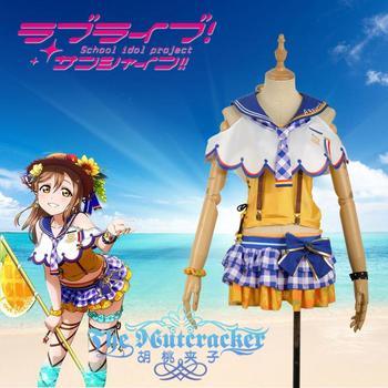 52f228640 Especial-AZALEA Kunikida Hanamaru uniformes Cosplay traje envío gratis