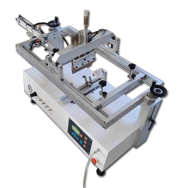 Tabletop Semi Auto Paper Cup Silk Screen Printing Machine