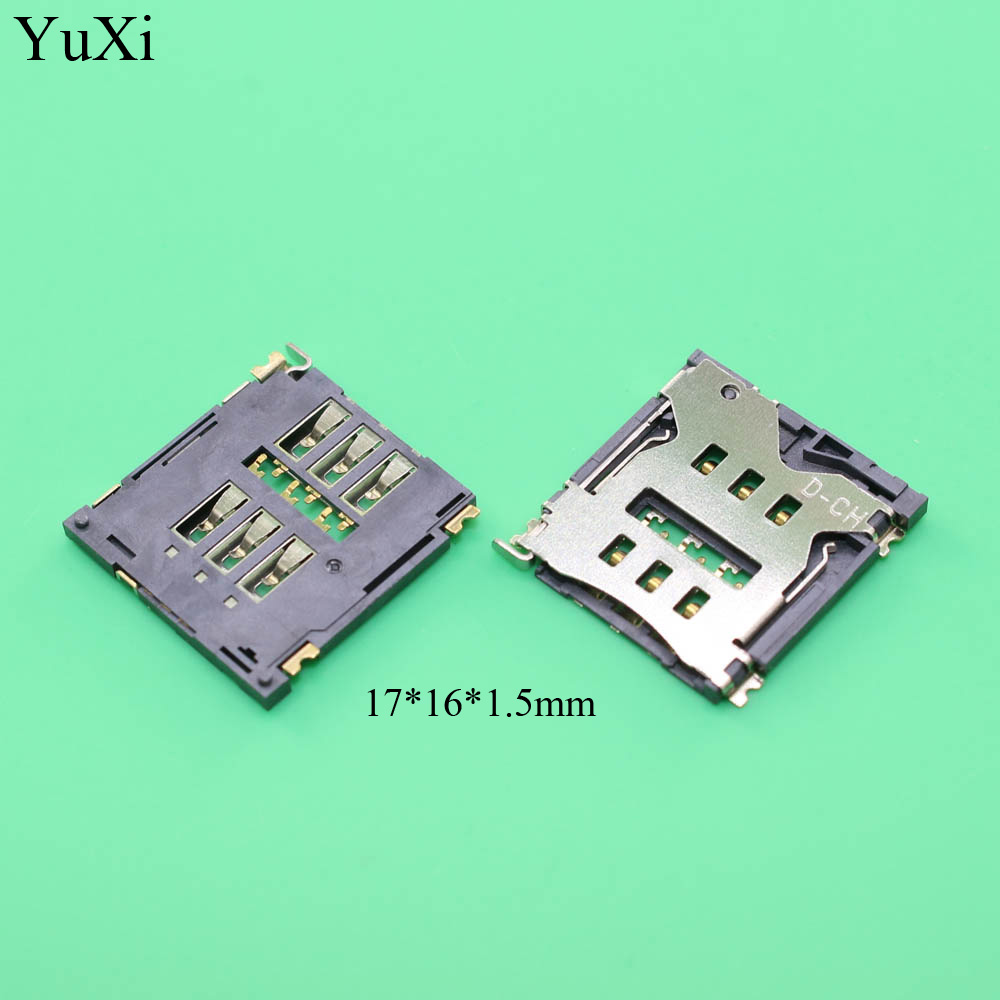 New SIM card Socket reader Holder Tray Replacement for Goophone i6 plus copy clone for iPhone 6G 6 plus