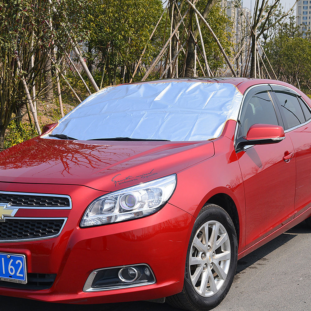Car Front Windshield Anti Snow Ice Shield Cover Frost Protector Front Window Screen Auto Sun Windscreen Cover