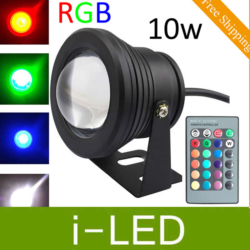 Charitable 4pcs/lot Rgb 10w Dc12v Underwater Led Fountain Lights Led Pool Lamp Pond Light Ip68 Under Water Led Light Ec&rohs Lights & Lighting Led Underwater Lights