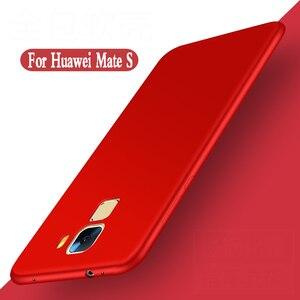 Image 1 - Cho huawei mate s trường hợp silicone mềm sang trọng fundas bảo vệ vỏ điện thoại di động Cho huawei mate s Bìa trường hợp Tpu trở lại CRR UL00