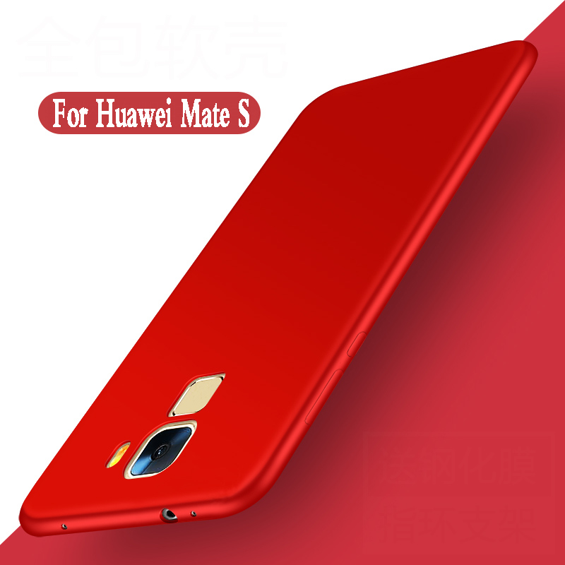 For Huawei Mate S Case Silicone Soft Luxury Fundas Protection Mobile Phone Shell For Huawei Mate S Cover Case Tpu Back CRR-UL00